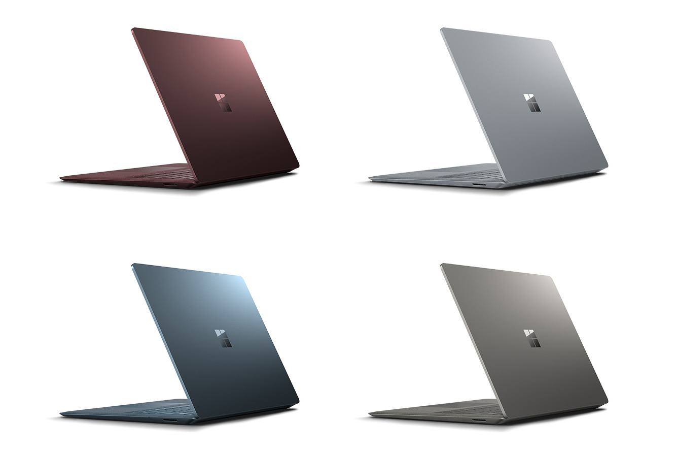 Firmware-Update für Surface-Line-up