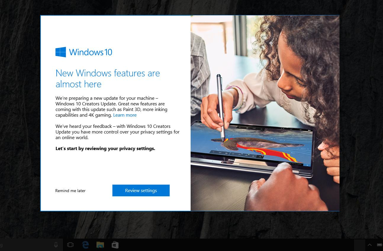 Microsoft patcht Windows 10 Creators Update