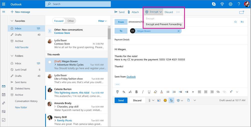 mail verschlüsselung outlook