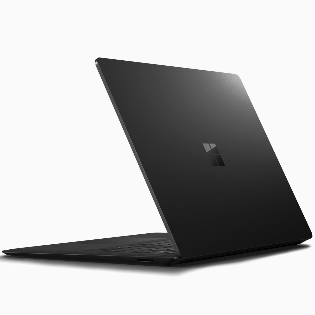 Microsofts Surface Laptop 2 in Schwarz